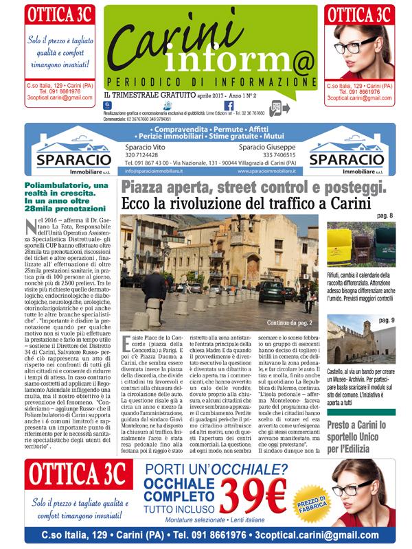 Carini Informa Aprile 2017