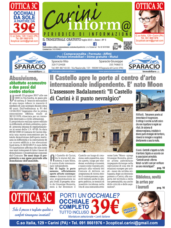 Carini Informa Luglio 2017
