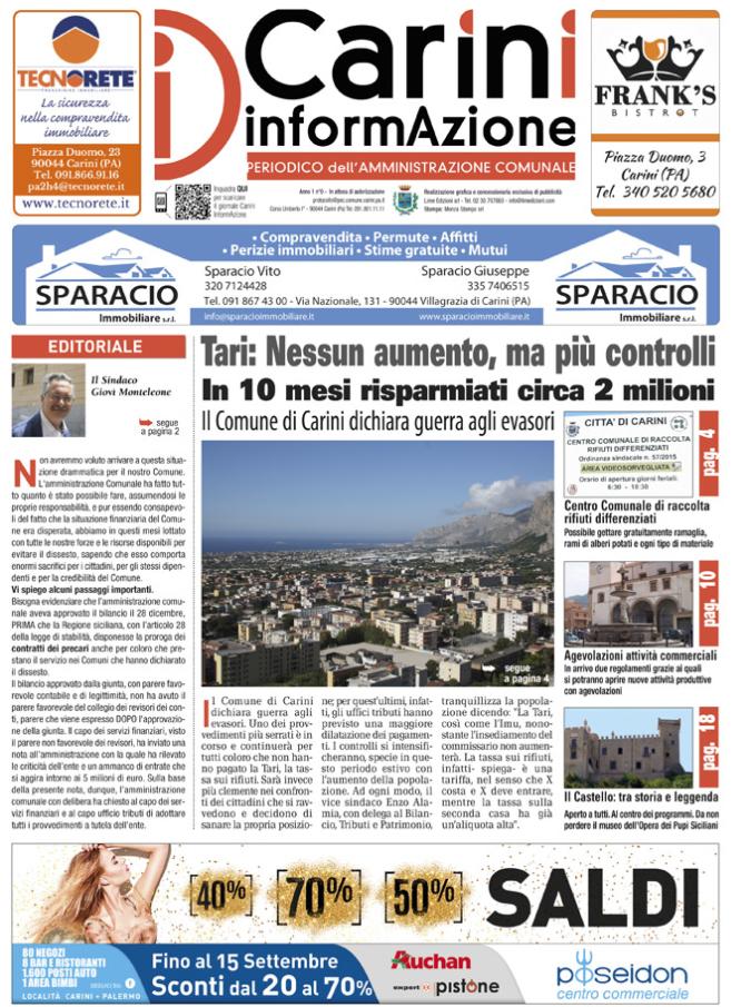 Carini InformAzione giugno 2016