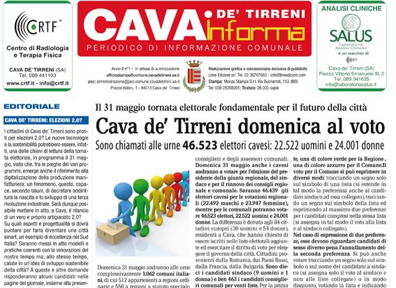 Cava De' Tirreni Informa Maggio 2015