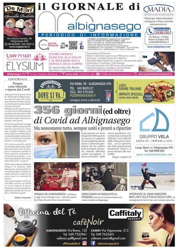 il Giornale di Albignasego aprile 2021