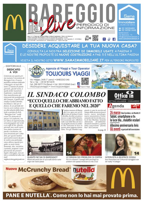 Giornale Bareggio Live