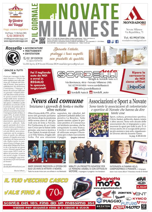 il Giornale di Novate Milanese giugno 2021