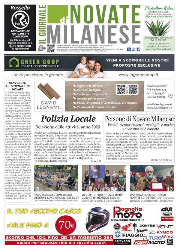 il Giornale di Novate Milanese maggio 2021