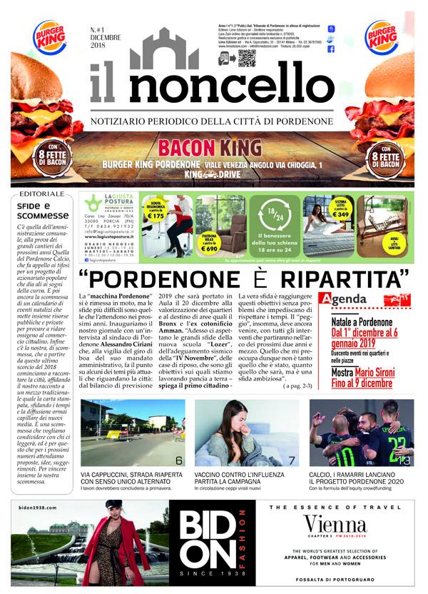 ilNoncello notiziario di Pordenone