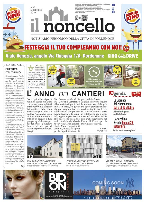 ilNoncello notiziario di Pordenone settembre 2019