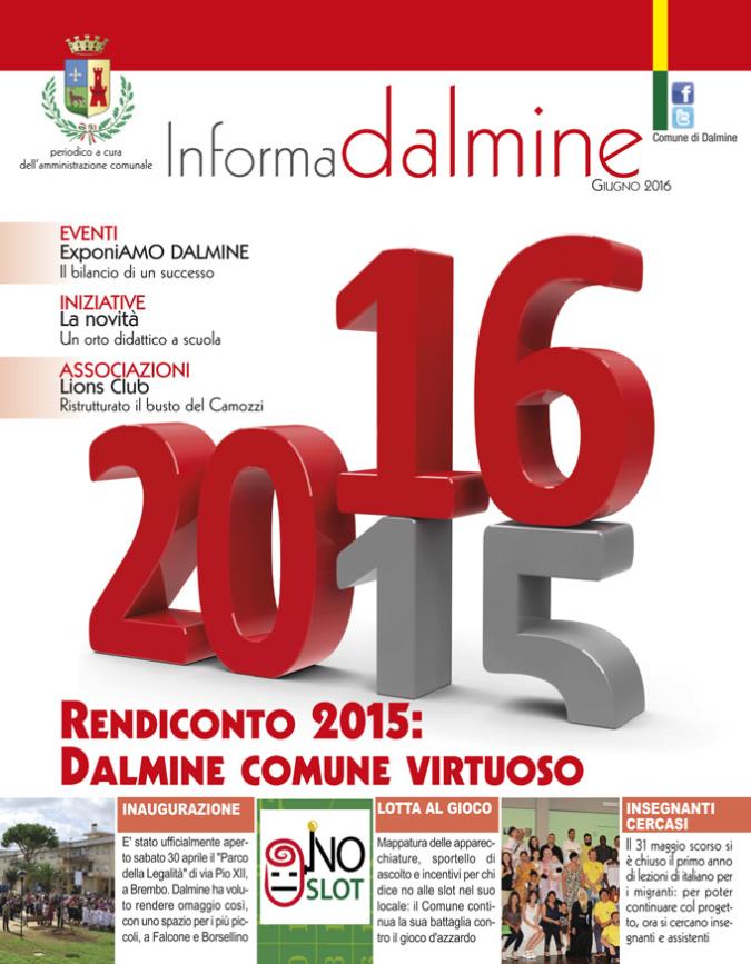 Informa Dalmine giugno 2016