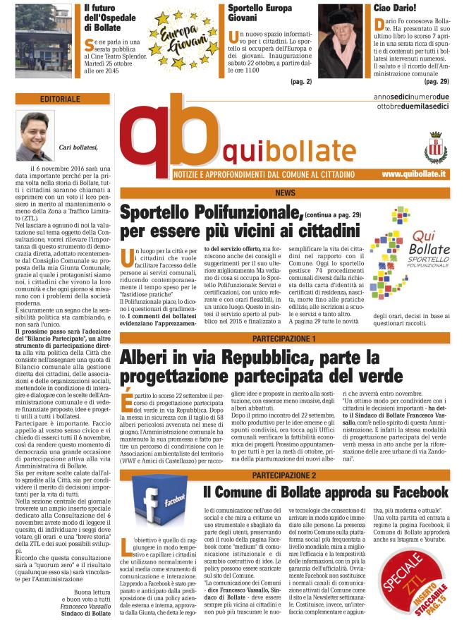 Qui Bollate Ottobre 2016