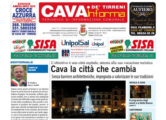 Cava de' Tirreni Informa Dicembre 2014