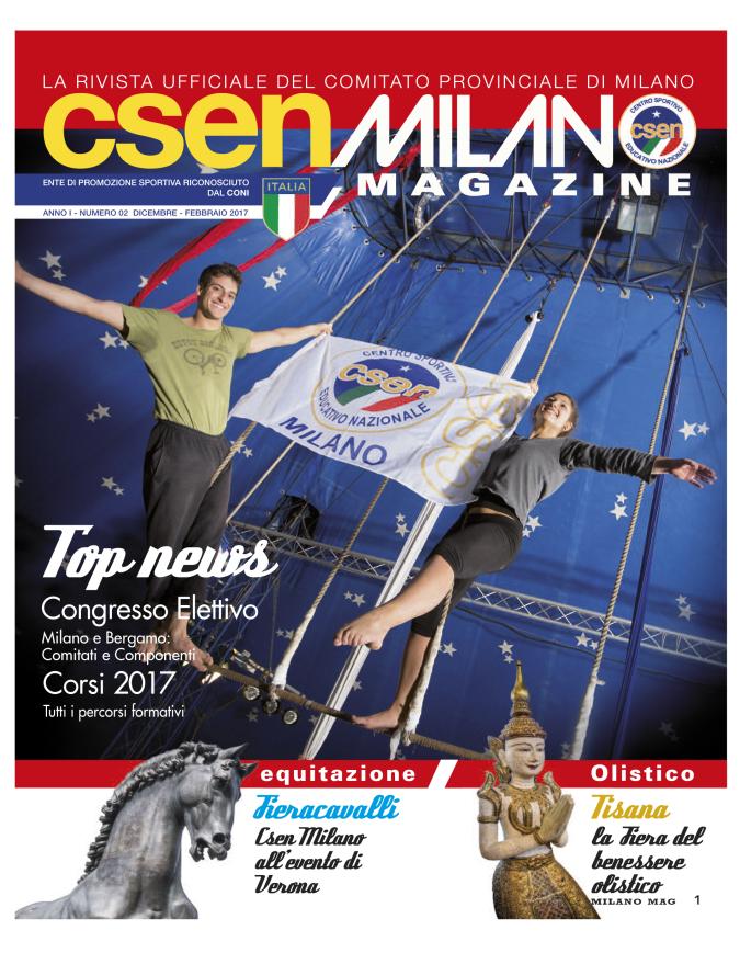 CSEN Magazine Dicembre 2016
